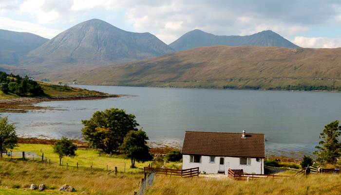 Otters Leap self-catering cottage, Isle of Skye